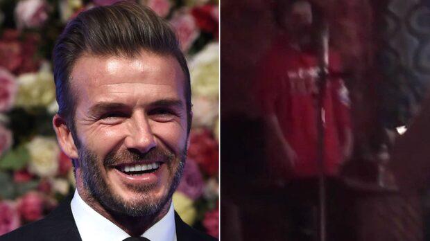 David Beckhams son överraskar alla med sin grymma talang