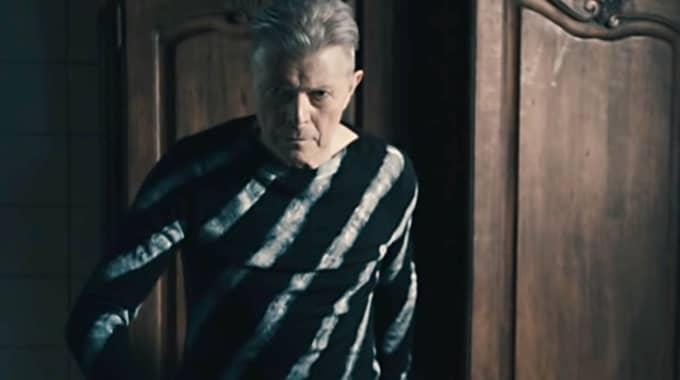 "David Bowie i sin sista video ""Lazarus"". Foto: Supplied By Lmk"