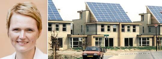 SOLEL. För att stötta den småskaliga solelsproduktionen satsar alliansregeringen 210 miljoner på investeringsstöd för solceller. Foto: Lars-Ingmar Karlsson