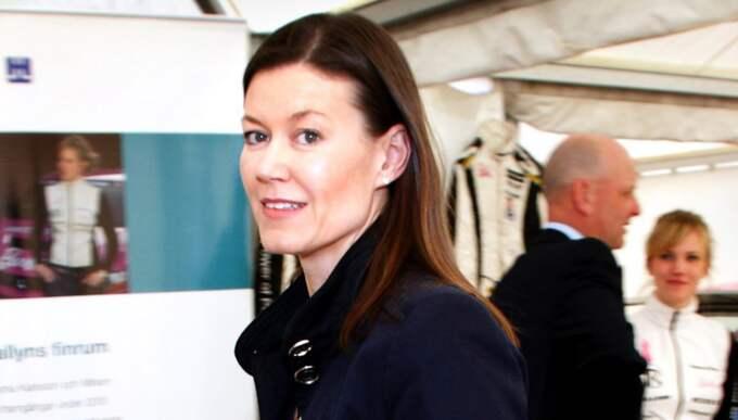 Jenny Lindén Urnes är svårfångad på bild. Här är hon dock på Höganäs årsmöte 2004. Foto: Fredrik Johansson