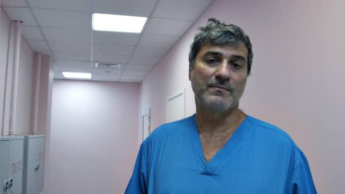 Läkaren Paolo Macchiarini. Foto: SVT