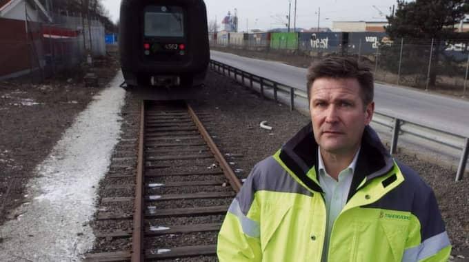 VILL PUBLICERA. Trafikverkets regiondirektör Håkan Wennerström offentliggöra kostnaderna. Foto: Lennart Rehnman