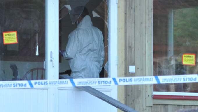 Mannen hittades död med flera stickskador. Foto: Ludvig Ahl