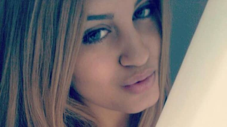 Alexandra Mezher, 22, mördades på jobbet. Foto: Privat