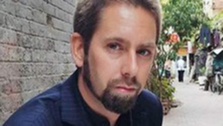 Peter Dahlin har varit frihetsberövad i Kina sedan början av januari. Foto: Privat