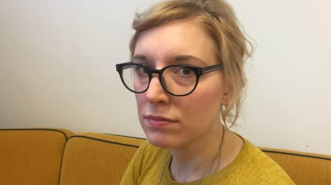 Emelie Holmquist, samhällsvetare och aktiv i Vänsterpartiet. Foto: Sara Törneman
