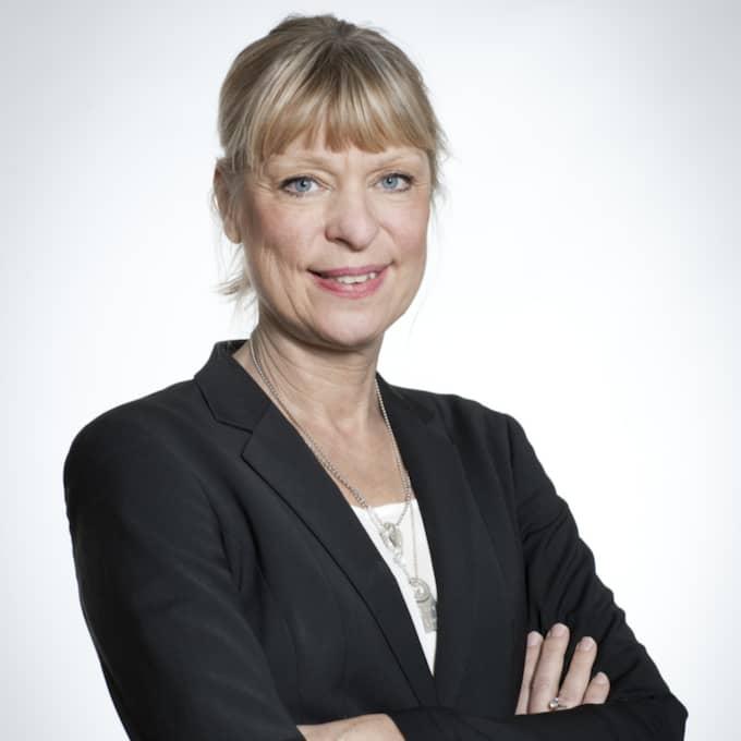 Gudrun Antemar, regeringsens utredare. Foto: Peter Hoelstad/Pressbild