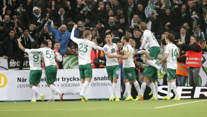 Hammarby slog Djurgården – nu väntar ett nytt derby mot AIK. Foto: Christine Olsson/Tt