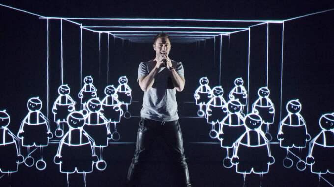 Måns Zelmerlöw återvänder till Melodifestivalen. Foto: Sven Lindwall