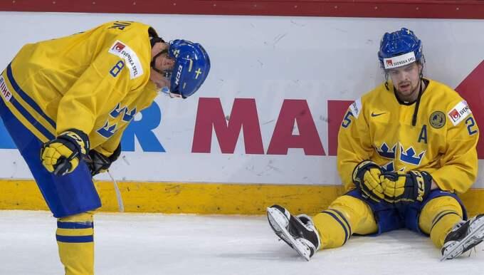 Precis som flera andra svenska spelare. Foto: Jonas Ekströmer/Tt