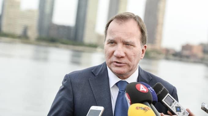 Statsminister Stefan Löfven. Foto: Pontus Lundahl/TT