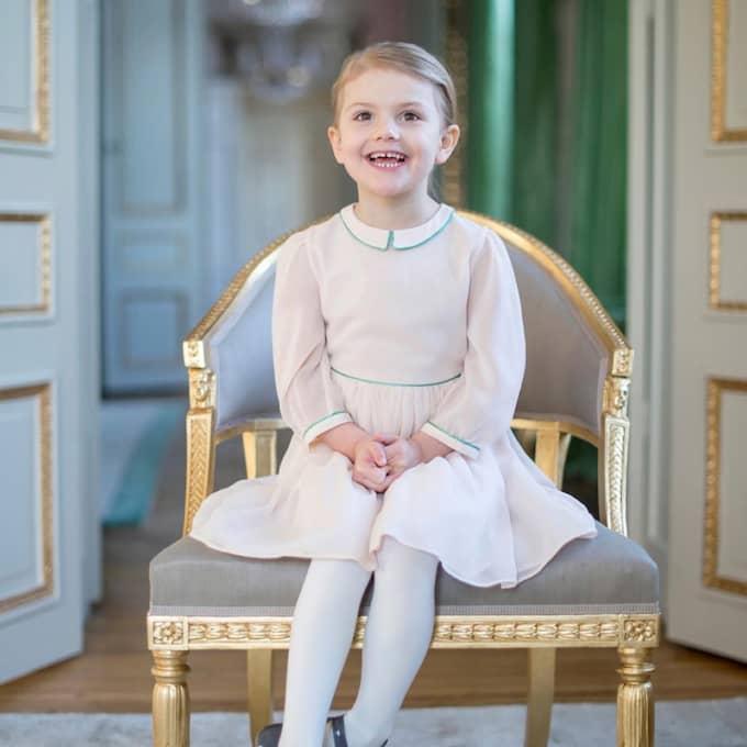 Grattis, Estelle! I dag fyller hon fyra år. Foto: Kate Gabor/Kungahuset.se