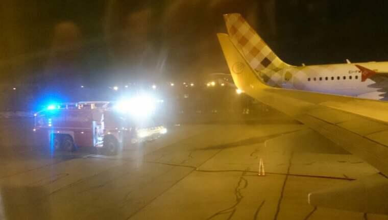 """Anders Johansson satt på planet: """"Det blev en eldflamma i vänster motor"""""""
