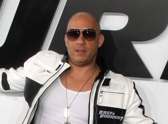 """Vin Diesel bekräftar fler """"Fast and the furious""""-filmer. Foto: Mandatory Byline: Juan Rico/Fame"""
