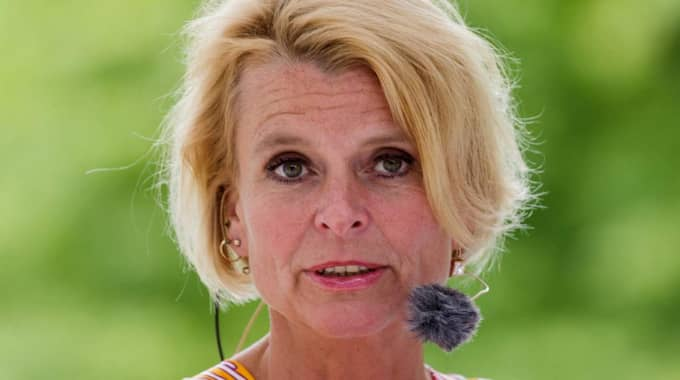 Åsa Regnér, S, barn-, äldre- och jämställdhetsminister. Foto: Gejo Foto, Sweden