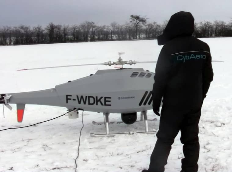Cybaeros helikopter Apid 60. Foto: Cybaeros