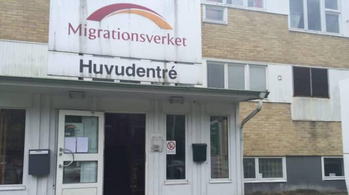 Migrationsverket ansvarar för asylboendet. Foto: Linda Bergh
