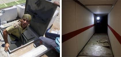 De underjordiska bunkrarna sägs innehålla allt från ett garage för lyxbilar till en 50 meters swimmingpool.
