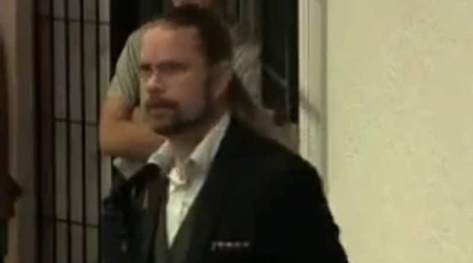 Jörgen Fogelklou sverigedemokraternas ordförande i Göteborg. Foto: Skärmdump