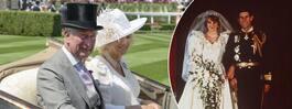 Prins Charles bad Camilla ställa in sitt första bröllop