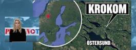 Pojke död i tågolycka norr om Östersund