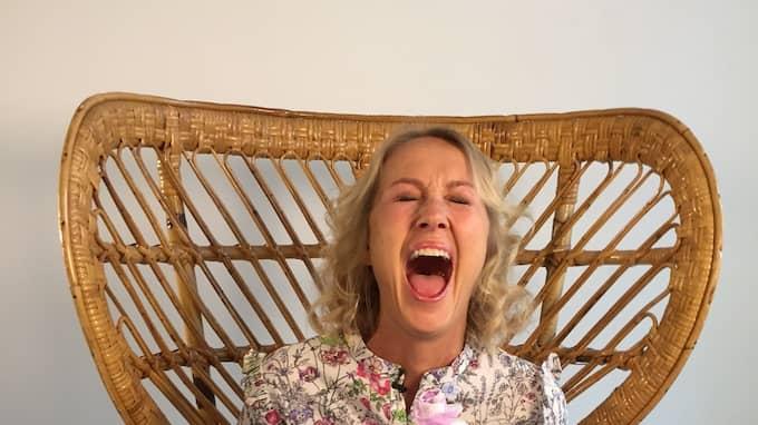 Karin Björkegren Jones tycker att klimakteriet är en härlig tid. Foto: Martin Thir