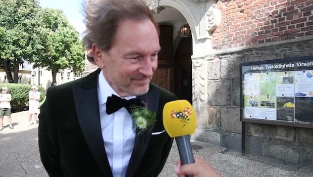 """Tomas Ledin på sonens bröllop: """"Stor dag"""""""