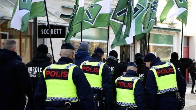 Polisen och Säpo oroas över störningar och våldsamheter i samband med höstens val. Foto: TT