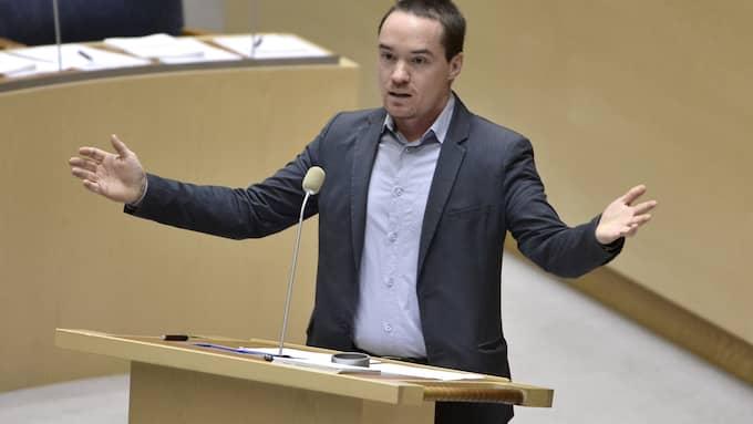 Rättegången mot Kent Ekeroth inleds imorgon, onsdag. Foto: CLAUDIO BRESCIANI/TT / TT NYHETSBYRÅN