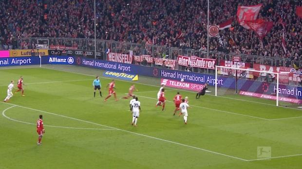 Highlights: Bayern München-Hannover 3-1