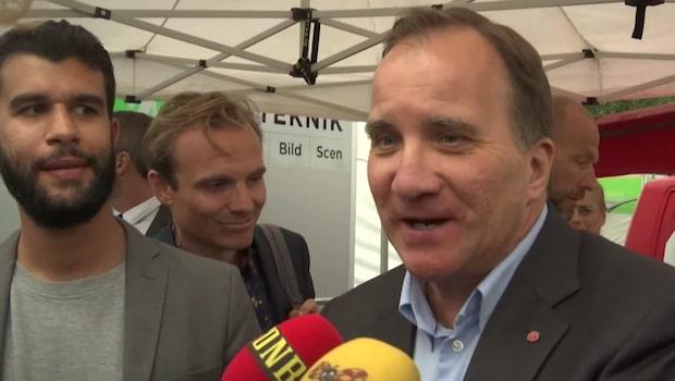 """Stefan Löfven tippar Sverige-Sydkorea: """"Blir stenhårt"""""""