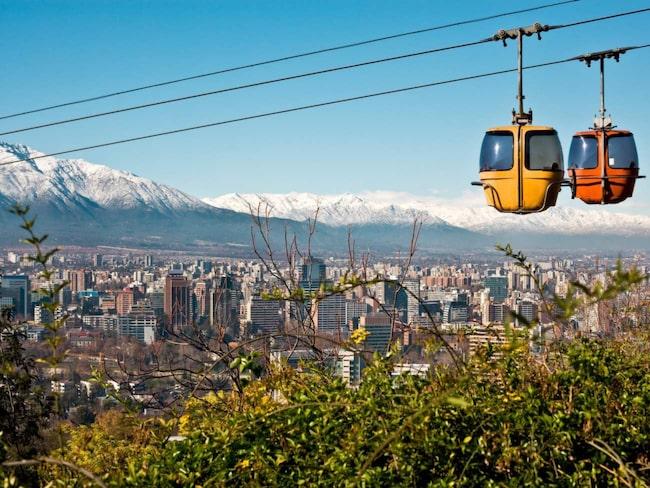 I Santiago de Chile möts moderna trender och latinamerikansk livsglädje.