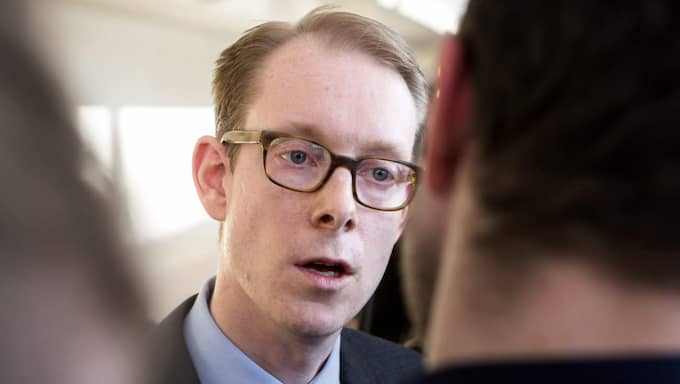 Före detta ministern Tobias Billström. Foto: Foto Gunnar Seijbold