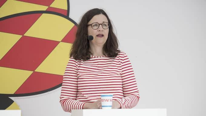 Gymnasie– och kunskapslyftsminister Anna Ekström (S) har tidigare riktat kritik mot Ramberg. Foto: SVEN LINDWALL