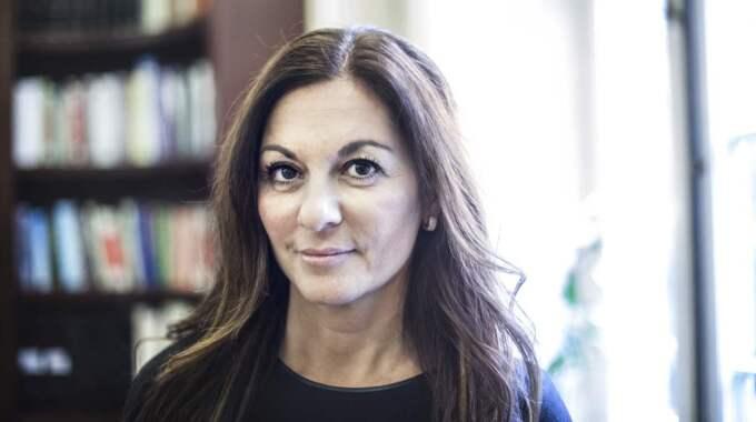 Elisabeth Massi Fritz har valt att fokusera sin kraft på att hjälpa brottsoffer. Samtidigt vill hon inte ha brottslingar i Sverige. Foto: Michaela Hasanovic