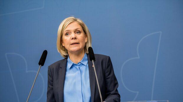 """Magdalena Andersson om Kristerssons svar till TU: """"Förvånad"""""""