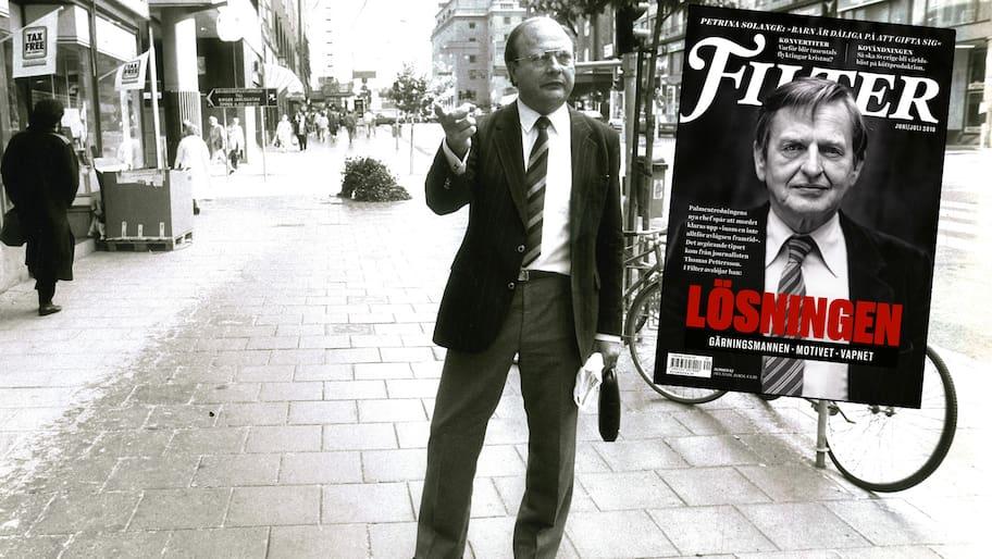 Han var reklamkonsulenten på Skandia som efter Palmemordet blev känd
