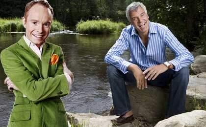 Peder Lamm går till TV4 och kommer att jobba med Ernst Kirchsteigers nya program. Foto: CORNELIA NORDSTRÖM och MIKAEL SJÖBERG (Obs! Montage)