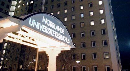Norrlands universitetssjukhus.