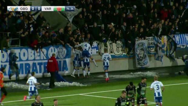 Mix Diskerud inblandad i IFK Göteborgs seger direkt