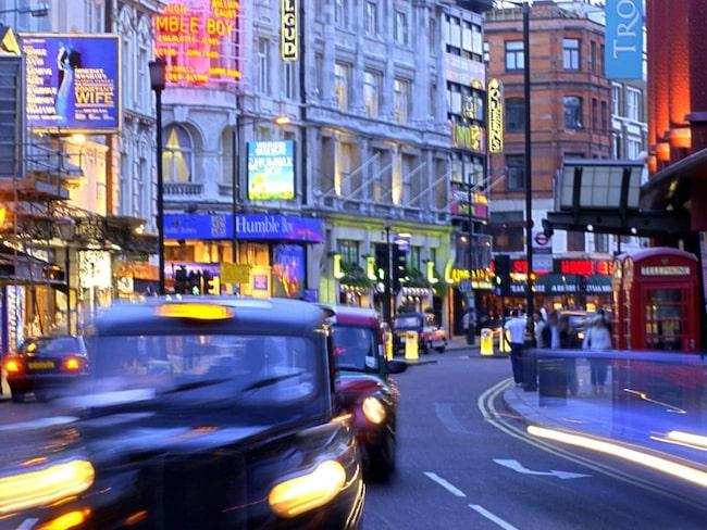 London delar britterna – staden är med på båda listorna.