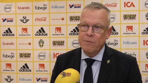 """Andersson om läget: """"Känner ingen press"""""""