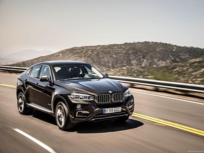 BMW X6 är den bil som säljs näst snabbast i Sverige.