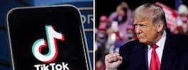 Trump godkänner Tiktok – appen får finnas i USA