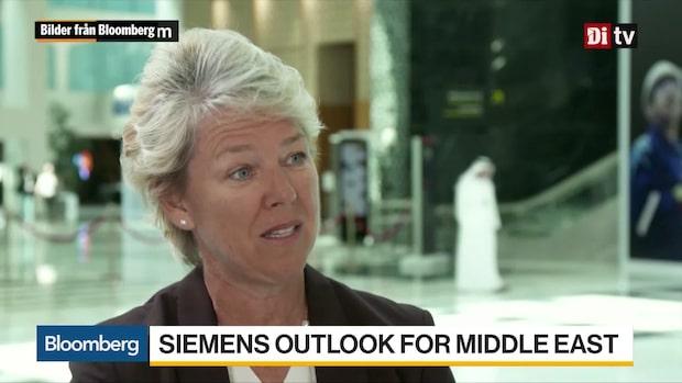 Världens affärer 13.30 – Siemens vill öka andelen förnybar energi i Mellanöstern