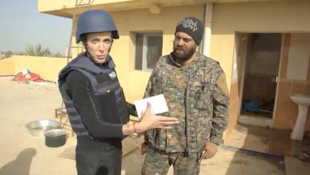 CNN:s korrespondent rapporterar från Syrien