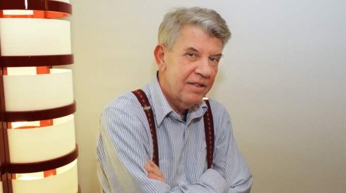 Vänsterpolitikern Bo Hammar har avlidit efter en tids sjukdom. Foto: Weine Lexius