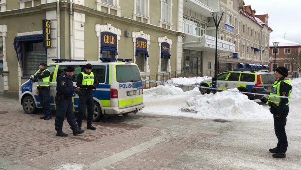 Misstänkt föremål hittat vid polisstation i Sala