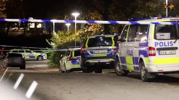 Man skjuten i benet i södra Stockholm