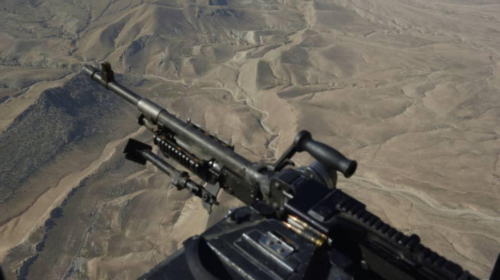 SINJAR. Sinjarområdet sett från Peshmergahelikopter i oktober 2014. Foto: Martin Von Krogh/Expressen / MARTIN VON KROGH/EXPRESSEN